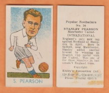 England Stan Pearson Manchester United